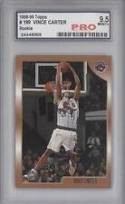 1998-99 Topps #199 Vince Carter Toronto Raptors RC Rookie Basketball Card