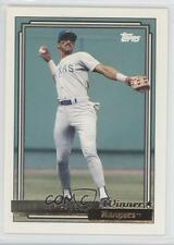 1992 Topps Gold Winner #27 Juan Gonzalez Texas Rangers Baseball Card