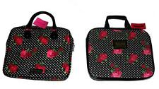 Betsey Johnson Roses & Polka Dots Plain or Sequin Laptop Computer Case NWT DISC