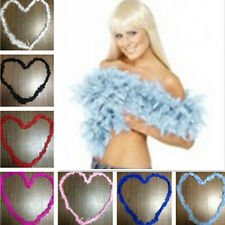 1pcs Feather Boa Home Decor Fluffy Flower Dressup Wedding Party Craft Costume