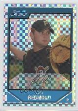 2007 Bowman Chrome Prospects X-Fractor #BC202 Todd Redmond Pittsburgh Pirates