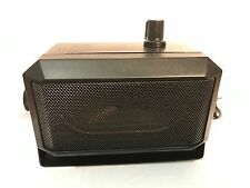 External / Extension Speaker with Amplifier  amplified for scanners handheld