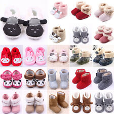 Baby Girl Boys Newborn Winter Warm Boots Toddler Infant Soft Boots Booties Shoes