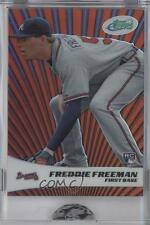 2011 eTopps #2 Freddie Freeman Atlanta Braves Rookie Baseball Card