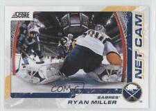 2011-12 Score Net Cam #9 Ryan Miller Buffalo Sabres Hockey Card
