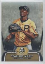 2012 Bowman Platinum Prospects Refractor BPP24 Starling Marte Pittsburgh Pirates