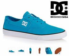 DC SHOES mens FLASH TX trainers TURQUOISE TB4 canvas skate bmx mx vans EURO 39