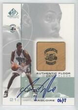 2002 #JM Jamaal Magloire (00-01 SP Game Floor Edition Authentic Floor) Auto Card