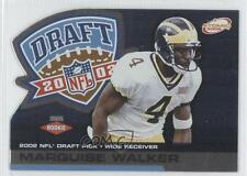 2002 Pacific Private Stock Reserve Atomic XRC #124 Marquise Walker Football Card