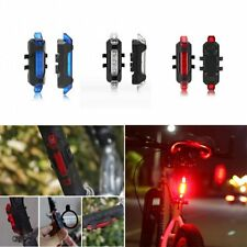 Cycling LED Bicycle Cycling Tail USB Rechargeable Warning Light Bike Safety