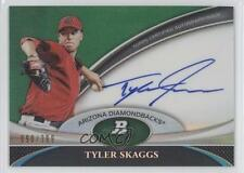2011 Bowman Platinum BPA-TS Tyler Skaggs Arizona Diamondbacks Auto Baseball Card