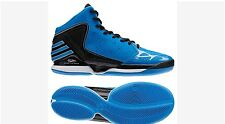 New 10 adidas D Rose 773 Basketball Shoes Blue White Black Derrick Bulls G59185