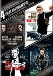 Steve McQueen Collection: 4 Film Favorites NEW!!!FREE FIRST CLASS SHIPPING !!