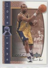 2003-04 Upper Deck Sweet Shot #29 Jamaal Tinsley Indiana Pacers Basketball Card