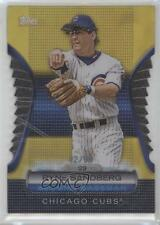 2012 Topps Golden Giveaway Contest Moments Die-Cut Gold #GMDC-56 Ryne Sandberg