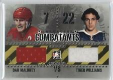 2011 In the Game Enforcers Combatants Black C-09 Tiger Williams Dan Maloney Card