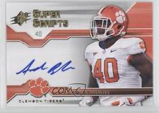 2012 SPx Super Scripts #SS-AB Andre Branch Clemson Tigers Auto Football Card