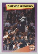 1991-92 Front Row Dream Picks 6 Dikembe Mutombo Georgetown Hoyas Basketball Card