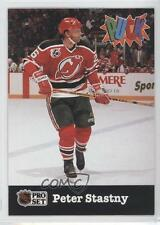 1991-92 Pro Set Puck #16 Peter Stastny New Jersey Devils Hockey Card