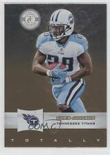 2011 Panini Totally Certified Gold #30 Chris Johnson Tennessee Titans Card