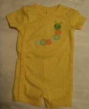 GYMBOREE Baby Preemie 5-9 lbs Unisex Caterpillar Cotton Outfit NWT