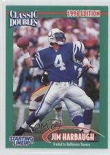 1998 Kenner Starting Lineup Classic Doubles #N/A Jim Harbaugh Indianapolis Colts