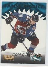 1996-97 Pinnacle FANtasy #FC17 Joe Sakic Colorado Avalanche Hockey Card