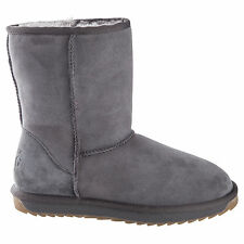 Classic Short GREY UGG Boot Made in Australia JUMBUCK UGG Boots size 8 lady