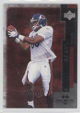 1998 Upper Deck Black Diamond Double #47 Curtis Conway Chicago Bears Card