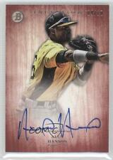 2014 Bowman Inception Prospect Autographs Red PA-AH Alen Hanson Auto Rookie Card