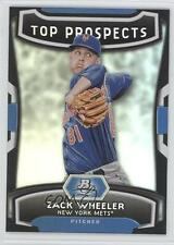 2012 Bowman Platinum Top Prospects #TP-ZW Zack Wheeler New York Mets Rookie Card