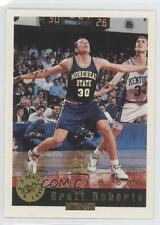 1992 Classic Draft Picks Factory Set Base Gold #73 Brett Roberts Basketball Card