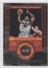 2003-04 Upper Deck UD Legends 119 Dahntay Jones Memphis Grizzlies RC Rookie Card