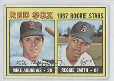 1967 Topps #314 Mike Andrews Reggie Smith Boston Red Sox RC Rookie Baseball Card