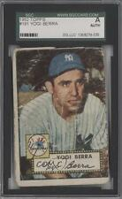 1952 Topps #191 Yogi Berra AUTHENTICATED New York Yankees Baseball Card