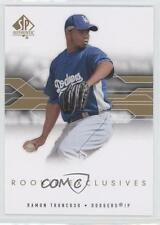 2008 SP Authentic Rookie Exclusives #RE-RT Ramon Troncoso Los Angeles Dodgers