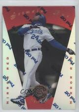 1997 Pinnacle Certified Mirror Red #15 Jermaine Dye Kansas City Royals Card