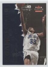 2000-01 Fleer Tradition Glossy Game Breakers #3GB Grant Hill Orlando Magic Card