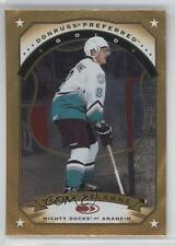 1997 Donruss Preferred #95 Teemu Selanne Anaheim Ducks (Mighty of Anaheim) Card
