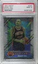 1994 Topps Finest 240 Grant Hill PSA 9 Detroit Pistons RC Rookie Basketball Card