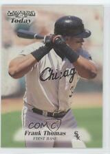 1998 Fleer Sports Illustrated Then & Now 134 Frank Thomas Chicago White Sox Card