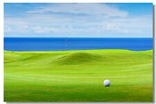Golf & Sea Modern Fashion Posters Wall Decals Decoration Art Print