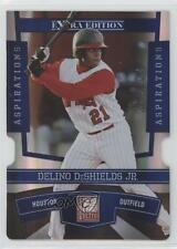 2010 Donruss Elite Extra Edition Aspirations Die-Cut #5 Delino DeShields Jr Jr.