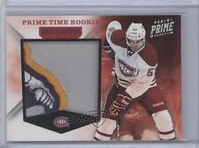 2011 Panini Prime Time Rookie Materials Patches #40 Blake Geoffrion Hockey Card