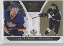 2010-11 Panini Luxury Suite Gold #194 Jake Muzzin Los Angeles Kings Hockey Card