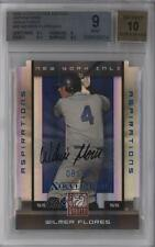 2008 Donruss Elite Extra Edition #96 Wilmer Flores BGS 9 New York Mets Auto Card