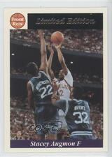 1991-92 Front Row Limited Edition #2 Stacey Augmon Atlanta Hawks Basketball Card