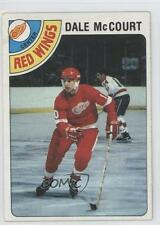 1978-79 Topps #132 Dale McCourt Detroit Red Wings RC Rookie Hockey Card