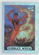 1994 Fleer Marvel Masterpieces Limited Edition Holofoil 7 Scarlet Witch Card 1k3