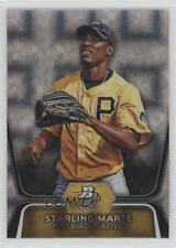 2012 Bowman Platinum Prospects X-Fractor BPP24 Starling Marte Pittsburgh Pirates